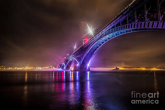 Over the bridge by Chuck Alaimo