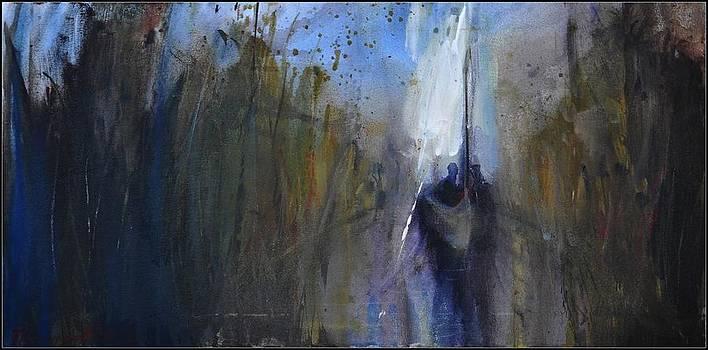 Over the lake II by David Figielek