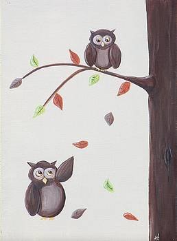 Owl Catch You If You Fall by Tracie Davis