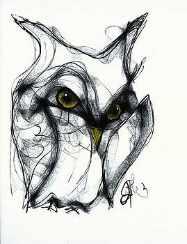 Jon Baldwin  Art - Owl Eyes