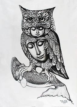 Owl by Kritsana Tasingh