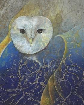 Owl Perch by Sara Bell