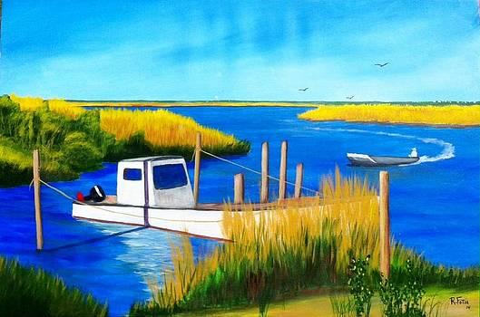 Oyster Creek by Rich Fotia