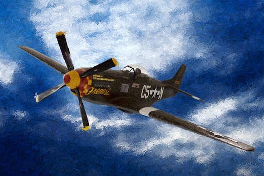P-51 Mustang by Curtis Keisler