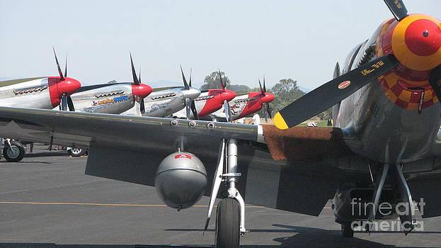 P 51 Mustangs by Matt James