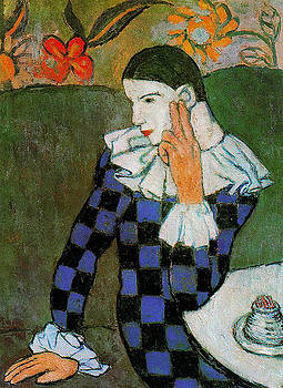 Pablo Picasso Harlequin by Lois Picasso