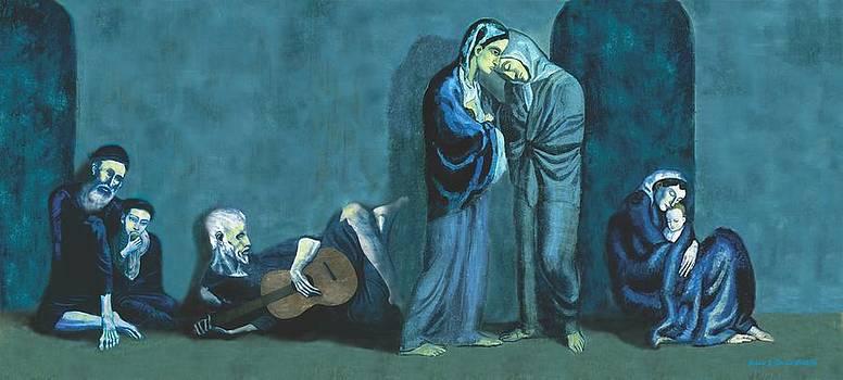 Pablo Picasso Remax by Jessie J De La Portillo