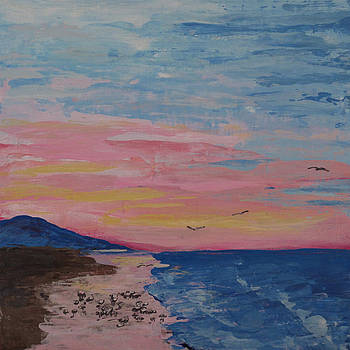 Pacific Dawn by Dorothy Jenson