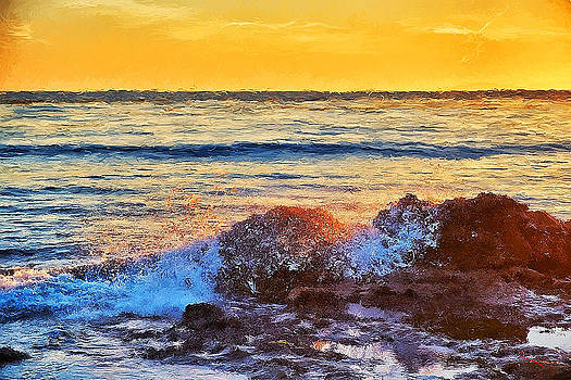 Pacific Sunset by SM Shahrokni
