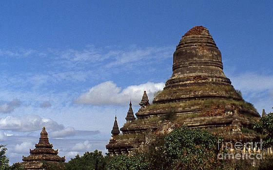 Pagan Burma Stupa by Scott Shaw