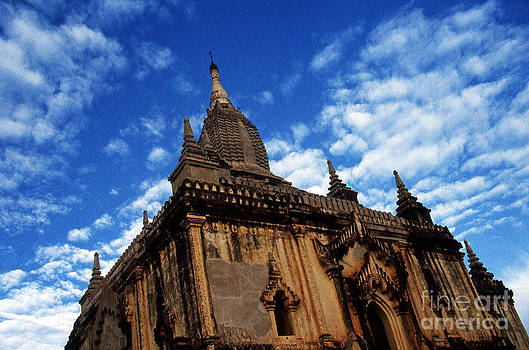 Pagan Burma Temple by Scott Shaw