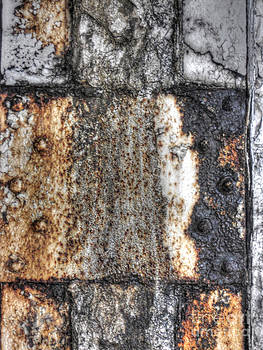 Paint and rust 12 by Jim Wright