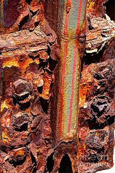 Paint and rust 26 by Jim Wright