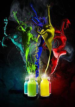 Regina  Williams  - Paint Dancers