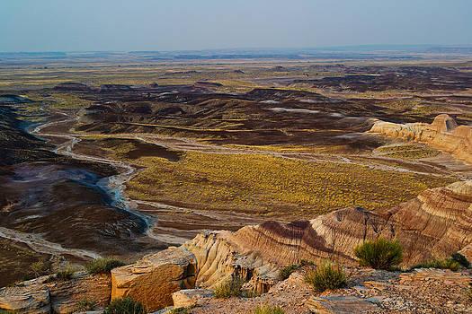 Painted Desert - Arizona by David Hintz