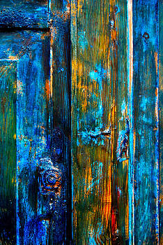 Painted Door Detail by Howard Dratch
