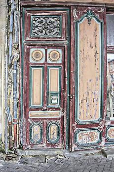 Painted Door by Robert Seidman
