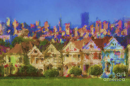 Painted Ladies by Andrea Auletta