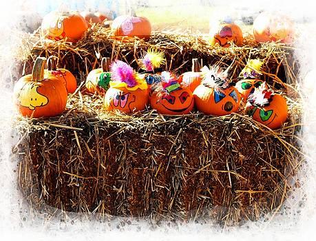Painted Pumpkins by Kathleen Struckle