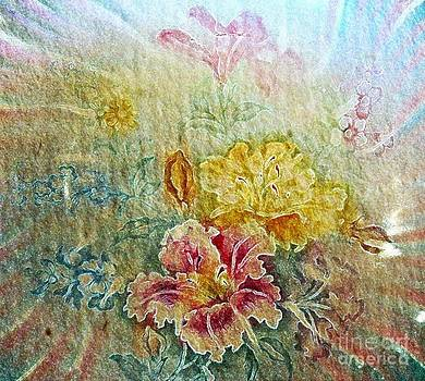 Painterly Floral by Judy Palkimas