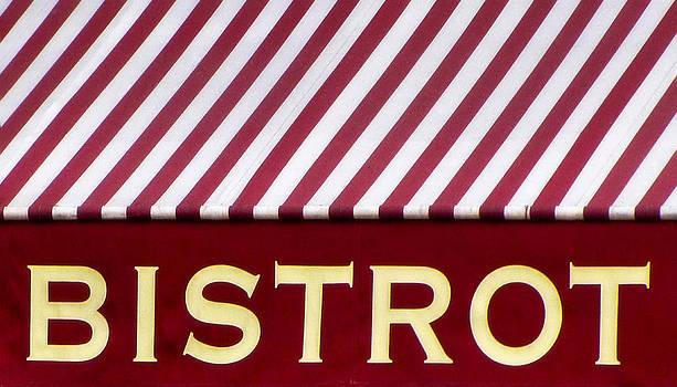 TONY GRIDER - Paris Bistro Sign