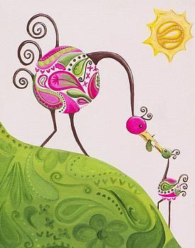 Paisley Peacocks by Tracie Davis