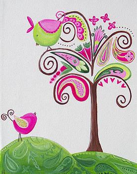 Paisley Tree by Tracie Davis