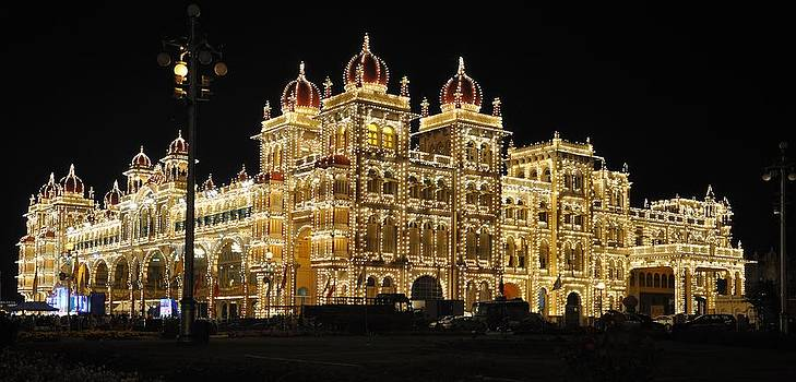 Palace At Mysore by B Thottoli