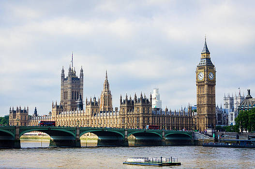 Palace of Westminster by Trevor Wintle
