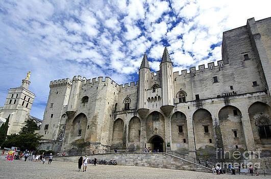 BERNARD JAUBERT - Palais des Papes. Avignon. France