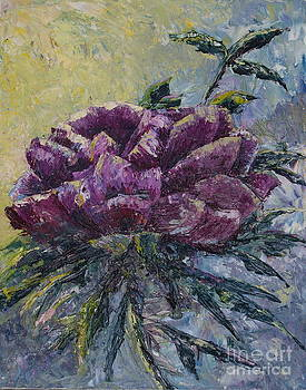 Paletted Peony by Joyce Hutchinson