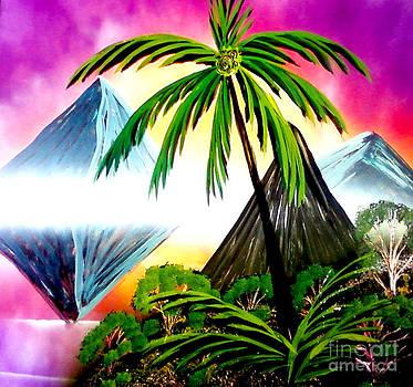 Palm Island Reflections by William  Dorsett