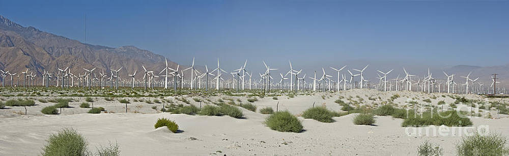 David  Zanzinger - Palm Springs green energy Wind Turbines Farm San Gorgonio pass Coachella Valley