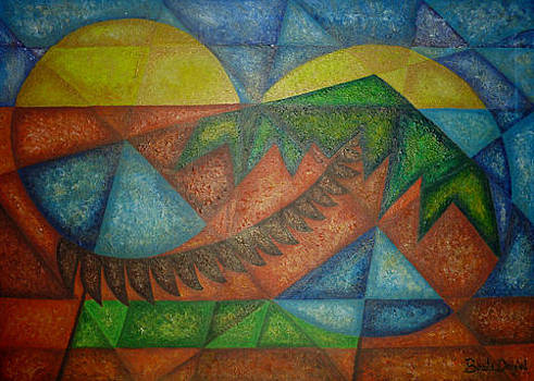 Palm Tree by Beata Dagiel