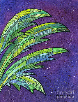 Palms Against the Night Sky by Diane Thornton