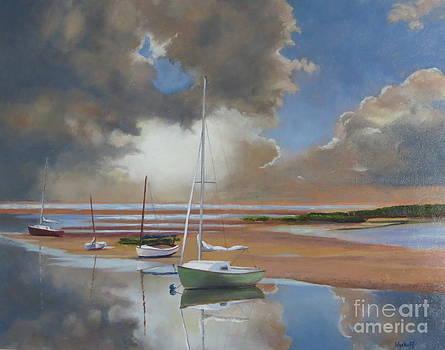 Pamet Harbor Inlet by Karol Wyckoff