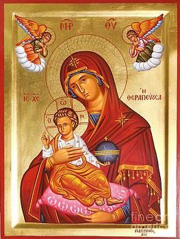 Panagia - Virgin Mary by Theodoros Patrinos