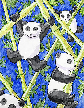 Panda Cubs by Whitney Morton