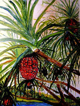 Pandanus Palm Fruit  by Jason Sentuf