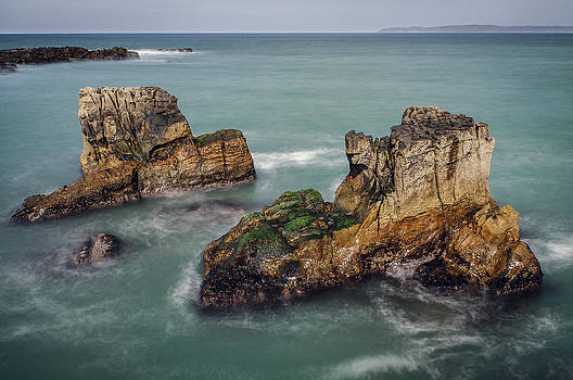 Pan's Rocks at Ballycastle by M I