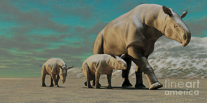 Corey Ford - Paraceratherium