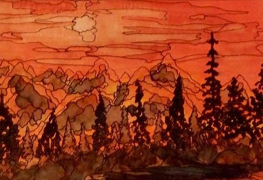 Paradise Aglow by Donna Whitsitt