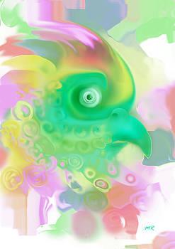 Paradise Bird by Martina  Rathgens