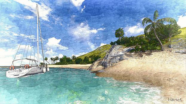 Paradise found by Marina Likholat