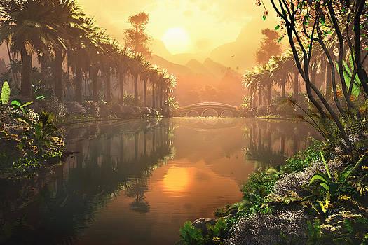 Pardise Lagoon by John Robichaud
