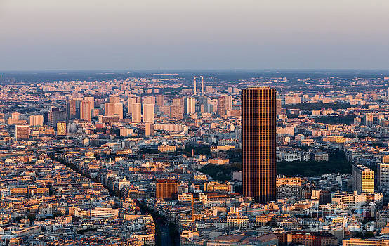 Paris- aerial view by Radu Razvan