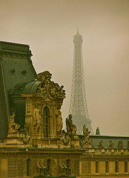 Paris Architecture by Betsy Moran
