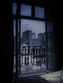 Paris bedroom window by Brian R Tolbert