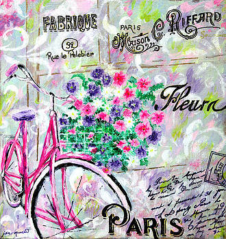 Paris by Jan Marvin by Jan Marvin