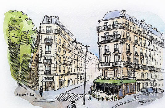 Paris Gare Du Nord by Marie Minyoung Jeon